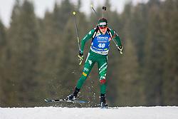 Nicole Gontier (ITA) during Women 15km Individual at day 5 of IBU Biathlon World Cup 2018/19 Pokljuka, on December 6, 2018 in Rudno polje, Pokljuka, Pokljuka, Slovenia. Photo by Ziga Zupan / Sportida