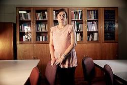 A professora de enfermagem Elizabeta Nietsche que trabalhou como voluntários no hospital de Caridade durante a tragédia onde morreram mais de 230 pessoas no incêndio da Boate Kiss. FOTO: Jefferson Bernardes/Preview.com