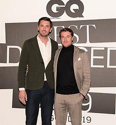 Ottavio,Giacomo Missoni at the photocall of GQ Best Dressed Men 2019  Milan,Italy, 11 January 2019  (Credit Image: © Nick Zonna/Soevermedia via ZUMA Press)