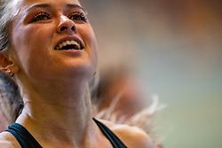 Myke van de Wiel in action on the 200 meter final during AA Drink Dutch Athletics Championship Indoor on 21 February 2021 in Apeldoorn.