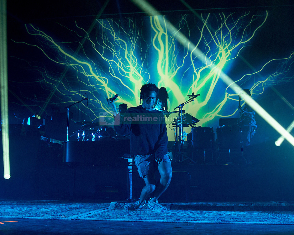 March 21, 2014 - Milwaukee, Wisconsin, U.S - Rapper CHILDISH GAMBINO (aka DONALD GLOVER) performs live at The Rave's Eagles Ballroom in Milwaukee, Wisconsin (Credit Image: © Daniel DeSlover/ZUMAPRESS.com)