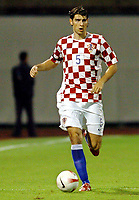Fotball<br /> 08.09.2007<br /> EM-kvalifisering<br /> Kroatia v Estland<br /> Foto: Gepa/Digitalsport<br /> NORWAY ONLY<br /> <br /> Vedran Corluka (CRO)