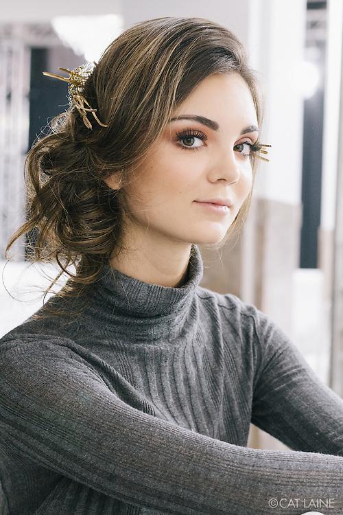 PROVIDENCE, RI - FEB 25: Backstage at the Carissa Lynne Designs show during StyleWeek NorthEast on February 24, 2016 in Providence, Rhode Island. (Photo by Cat Laine)