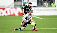 Fotball , 16. april 2016 , Tippeligaen , Eliteserien , <br /> Strømsgodset - Sogndal<br /> Ole Amund Sveen , Sogndal<br /> Mounir Hamoud , SIF