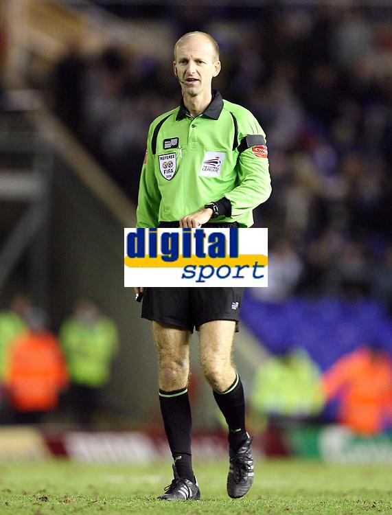 Photo: Rich Eaton.<br /> <br /> Birmingham City v Preston North End. Coca Cola Championship. 09/12/2006. referee Mike Riley who awarded Birmingham a late second half penalty