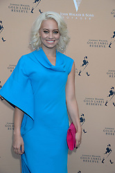 The Johnnie Walker Gold Label Reserve Party aboard John Walker & Sons Voyager, St.Georges Stairs Tier, Butler's Wharf Pier, London, UK on 17th July 2013.<br /> Picture Shows:-Kimberly Wyatt.
