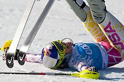 04.03.2011, Pista di Prampero, Tarvis, ITA, FIS Weltcup Ski Alpin, Supercombi der Damen, im Bild Lindsey Vonn (USA, Rang 2) // Lindsey Vonn (USA place 2) during Ladie's Supercombi FIS World Cup Alpin Ski in Tarvisio Italy on 4/3/2011. EXPA Pictures © 2011, PhotoCredit: EXPA/ J. Groder