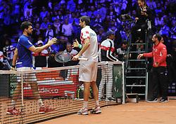 November 23, 2018 - Lille, France - Finale Coupe Davis 2018 - Marin Cilic - Croatie (Credit Image: © Panoramic via ZUMA Press)