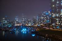 Yaletown in the Night Fog