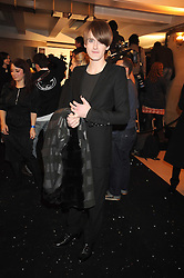 Gareth Pugh at the 2008 British Fashion Awards held at the Lawrence Hall, Westminster, London on 25th November 2008.