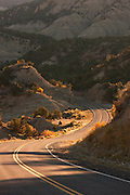 Winding road, scenic Byway 12, Utah, United States of America