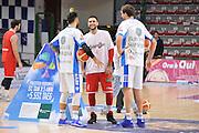 DESCRIZIONE : Campionato 2015/16 Serie A Beko Dinamo Banco di Sardegna Sassari - Grissin Bon Reggio Emilia<br /> GIOCATORE : Brian Sacchetti Denis Marconato<br /> CATEGORIA : Fair Play Before Pregame Ritratto<br /> EVENTO : LegaBasket Serie A Beko 2015/2016<br /> GARA : Dinamo Banco di Sardegna Sassari - Grissin Bon Reggio Emilia<br /> DATA : 23/12/2015<br /> SPORT : Pallacanestro <br /> AUTORE : Agenzia Ciamillo-Castoria/C.Atzori