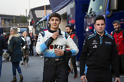 February 20, 2019 - Barcelona, #63 George Russell (G,  #63 George Russell (GBR Team W, Spain, #63 George Russell (GBR Team Williams - RUSSELL George (gbr), Williams Racing F1 FW42, portrait during Formula 1 winter tests from February 18 to 21, 2019 at Barcelona, Spain - Photo  /  Motorsports: FIA Formula One World Championship 2019, Test in Barcelona,, #63 George Russell (GBR Team Williams) (Credit Image: © Hoch Zwei via ZUMA Wire)