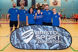 General views during the Bristol Sport Foundation Corporate Basketball tournament at SGS Wise Arena - Mandatory by-line: Ryan Hiscott/JMP - 18/02/2020 - SPORT- SGS Wise Arena - Bristol, England - Bristol Sport Foundation - Corporate Basketball