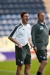 Raith Rover's manager Grant Murray..Falkirk v Raith Rovers, 18/8/2012..