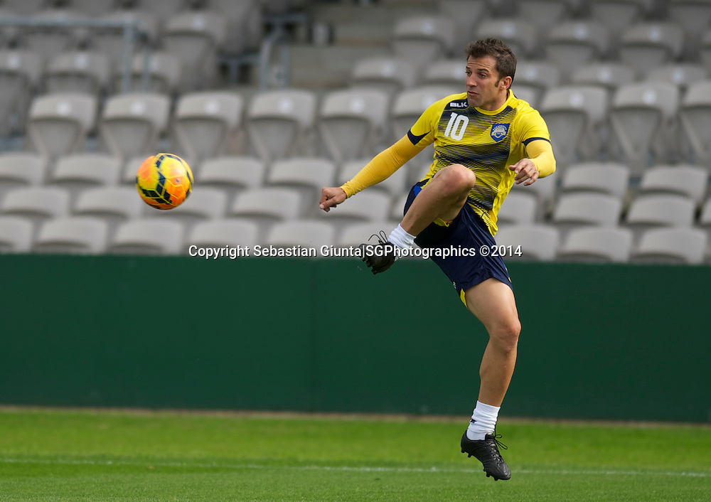 A-League All Stars in preparation for the Juventus tour game 2014. Training session at Jubilee Stadium