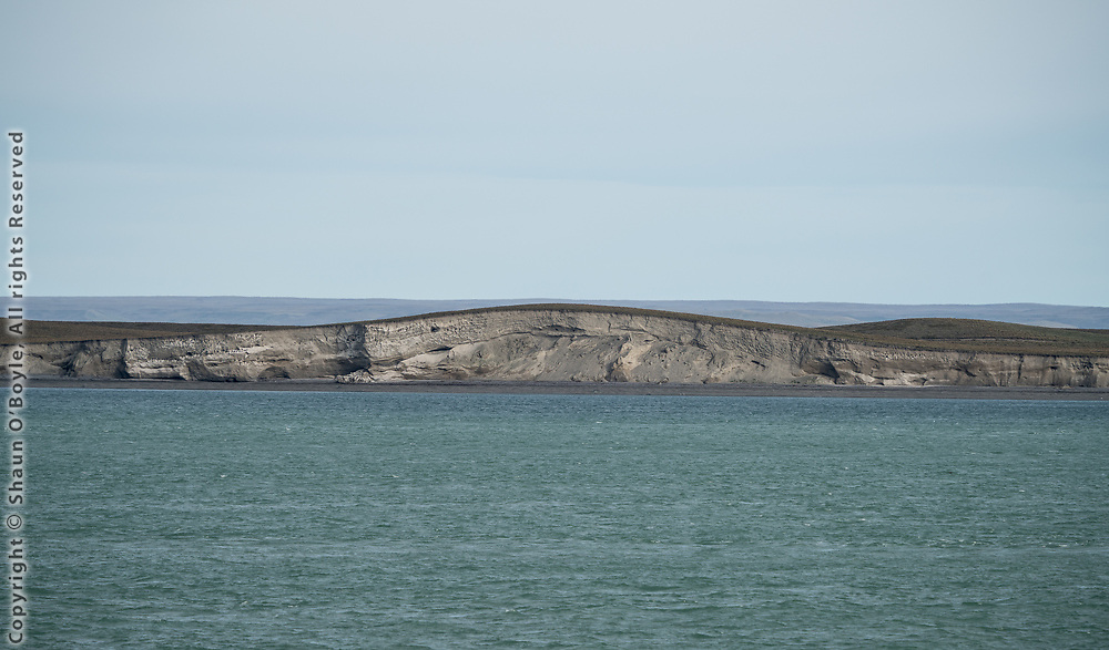 The narrows on the Straits of Magellan