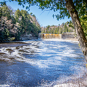 Springtime At Tahquamenon Falls In Paradise Michigan