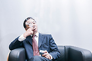 CHINA / Shanghai<br /> <br /> The Shanghai Tobacco Group Corporation /Zhou Yongsen Vice president <br /> <br /> <br /> © Daniele Mattioli Shanghai China Corporate and Industrial Photographer