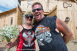 The Spur Creek Ranch for the annual Lichter/Sugar Bear Ride during the 75th Annual Sturgis Black Hills Motorcycle Rally.  SD, USA.  August 5, 2015.  Photography ©2015 Michael Lichter.