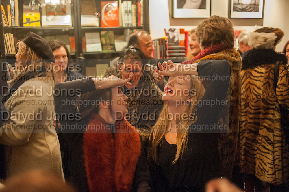 WENDY DARLING; PONY PONY, The Society Club  viewing of tSTILLSOHO' featuring photos from The Colony Club and Soho by Carla Borel. Ingestre Place, Soho. London. 11 December 2012
