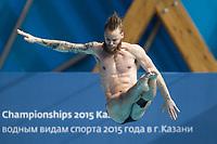 Stup<br /> Foto: imago/Digitalsport<br /> NORWAY ONLY<br /> <br /> BERGSLIEN Espen Gilje NOR Diving - Men s 1m springboard preliminaries Day 01 24/07/2015 XVI FINA World Championships Aquatics Swimming Kazan Tatarstan RUS  2015