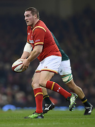 Wales' Gethin Jenkins during the Autumn International match at the Principality Stadium, Cardiff.