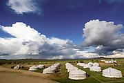 Gers in Ulan Bator, Mongolia
