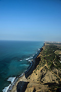 Israel Coastal plains south of Netanya aerial photography