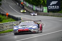 June 17, 2018 - Le Mans, France - 69 FORD CHIP GANASSI TEAM USA (USA) FORD GT GTE PRO RYAN BRISCOE (AUS) RICHARD WESTBROOK (GBR) SCOTT DIXON  (Credit Image: © Panoramic via ZUMA Press)