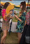 TAMASEA LAMBIS;; ARICIAN LAMBIS;  2004 Veuve Clicquot Gold Cup Final at Cowdray Park Polo Club, Midhurst. 20 July 2014