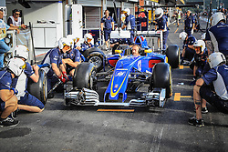 August 28, 2016 - Spa Francorchamps, Belgique - Spa  27/08/2016 GP F1 Belgique/Samedi/Ambiance/.Sauber (Credit Image: © Panoramic via ZUMA Press)