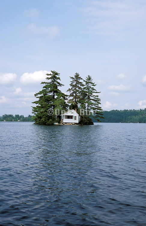 Little house on small Island