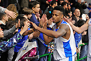 DESCRIZIONE : Eurocup Last 32 Group N Dinamo Banco di Sardegna Sassari - Galatasaray Odeabank Istanbul<br /> GIOCATORE : MarQuez Haynes<br /> CATEGORIA : Postgame Ritratto Esultanza Ultras Tifosi Spettatori Pubblico<br /> SQUADRA : Dinamo Banco di Sardegna Sassari<br /> EVENTO : Eurocup 2015-2016 Last 32<br /> GARA : Dinamo Banco di Sardegna Sassari - Galatasaray Odeabank Istanbul<br /> DATA : 13/01/2016<br /> SPORT : Pallacanestro <br /> AUTORE : Agenzia Ciamillo-Castoria/C.Atzori