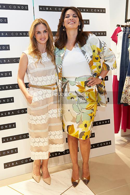 Fabiola Martinez, Genoveva Casanova attended the opening of New Store of Alba Conde in Madrid