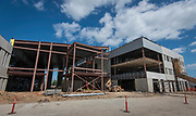 Construction at the High School for Law and Justice, May 16, 2017.
