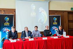 Press conference of EURO Futsal 2018 in Austria Trend Hotel, Ljubljana, Slovenia. Photo by Ziga Zupan / Sportida