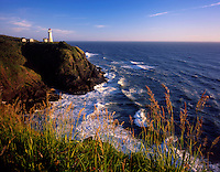 North Head Lighthouse, Cape Disappointment State Park Washington USA