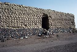 Historic ruins on the Red Sea near Yanbu, Saudi Arabia.