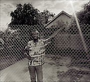 Jimmy Cliff at home in Kingston Jamaica  1986