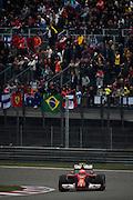April 20, 2014 - Shanghai, China. UBS Chinese Formula One Grand Prix. Kimi Raikkonen (FIN), Ferrari