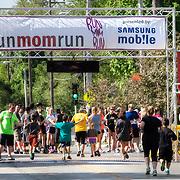 RunMomRun 5K Marathon in Kansas City, Missouri, May 2014.