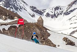 12.05.2018, Grossglockner Hochalpenstrasse, Fusch a.d. Glocknerstrasse, AUT, Großglockner Trophy Fuschertörllauf, im Bild Damen Siegerin Franziska Kaserer (AUT) // Womens Winnter Franziska Kaserer (AUT) during the Großglockner Trophy Fuschertörl Skirace at the Grossglockner Hochalpenstrasse, Fusch a.d. Glocknerstrasse, Austria on 2018/05/03. EXPA Pictures © 2018, PhotoCredit: EXPA/ JFK