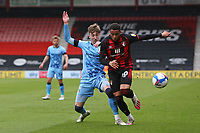 Football - 2020 / 2021 Sky Bet Championship - AFC Bournemouth vs. Coventry City - The Vitality Stadium<br /> <br /> Josh Eccles of Coventry manages to tackle Bournemouth's Arnaut Danjuma Groeneveld during the Championship match at the Vitality Stadium (Dean Court) Bournemouth <br /> <br /> COLORSPORT/SHAUN BOGGUST
