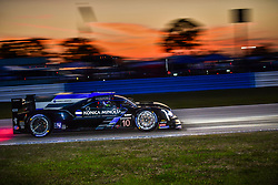 March 14, 2019 - Sebring, Etats Unis - 5 MUSTANG SAMPLING RACING (USA) CADILLAC DPI CADILLAC JOAO BARBOSA (PRT) BRENDON HARTLEY (NZL) FILIPE ALBUQUERQUE  (Credit Image: © Panoramic via ZUMA Press)