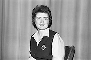 14/03/1964<br /> 03/14/1964<br /> 14 March 1964<br /> Leinster finals of Gael Linn Debating Competition for secondary schools at Manor House School, Raheny, Dublin. Nessa Ni Thuama, Scoil Chaitriona, Eccles Street, Dublin who won the individual best speaker prize.