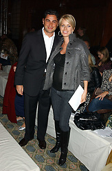 CEM & CAROLINE HABIB at Reach 4 Fashion 2005 in aid of the REACH Leukaemia Appeal hosted by designers Sadie Frost and Jemima French of fashion label FrostFrench held at 88 St.James' Street, London SW1 on 8th November 2005.<br /><br />NON EXCLUSIVE - WORLD RIGHTS