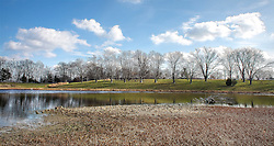 Spring Green Begins To Return After A Long Winter At Broemmelsiek Park in Wentzville, Missouri