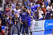 DESCRIZIONE : Milano Lega A 2014-15 EA7 Emporio Armani Milano vs Banco di Sardegna Sassari playoff Semifinale gara 7 <br /> GIOCATORE : Romeo Sacchetti Brian Sacchetti<br /> CATEGORIA : esultanza postgame<br /> SQUADRA : Banco di Sardegna Sassari<br /> EVENTO : PlayOff Semifinale gara 7<br /> GARA : EA7 Emporio Armani Milano vs Banco di Sardegna SassariPlayOff Semifinale Gara 7<br /> DATA : 10/06/2015 <br /> SPORT : Pallacanestro <br /> AUTORE : Agenzia Ciamillo-Castoria/GiulioCiamillo<br /> Galleria : Lega Basket A 2014-2015 Fotonotizia : Milano Lega A 2014-15 EA7 Emporio Armani Milano vs Banco di Sardegna Sassari playoff Semifinale  gara 7 Predefinita :