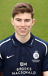 Middlesex's Martin Andersson during the media day at Lord's Cricket Ground, London.